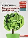 Mappe e tesori. Educazione civica e ambientale. Per la Scuola media. Con e-book. Con espansione online