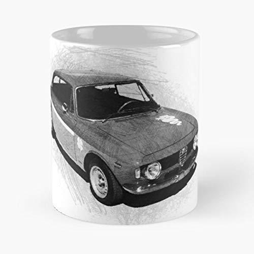 5TheWay Mug Romeo Sprint Giulia GTA Alfa Best 11 oz Kaffeebecher - Nespresso Tassen Kaffee Motive