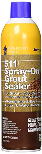 Miracle Sealants GRTSLRAEROCS Grout Aerosol Spray Penetrating Sealers, 15 oz