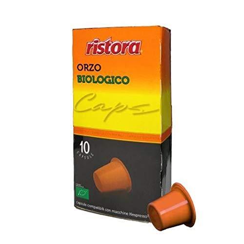 120 Capsule Compatibili Nespresso Ristora Orzo Biologico
