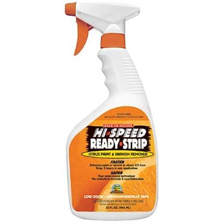 Sunnyside Corporation 68532 Hi-Speed Ready-Strip Citrus Paint & Varnish Remover, Quart Trigger Spray, Assorted