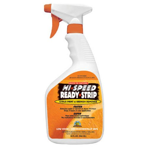 Sunnyside Corporation 68532 Hi-Speed Ready-Strip Citrus Paint & Varnish Remover, Quart Trigger Spray, Assorted