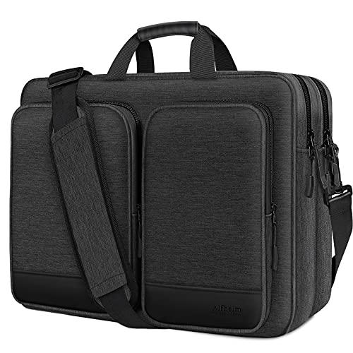 Alfheim 17-17.3 inch Laptop Shoulder Bag, Waterproof Shock-Resistant...