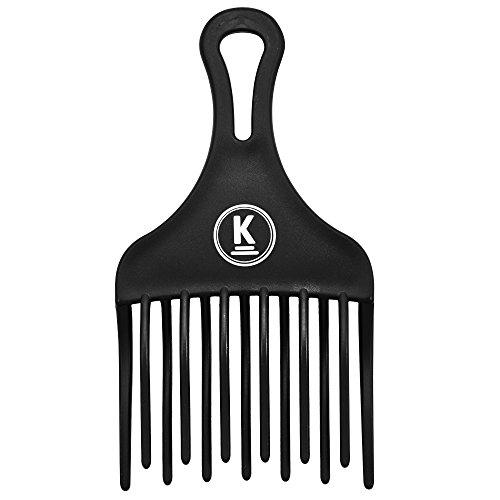 K-Pro Fingerstyler Afro Kamm Grob - Natur-Locken, Dauerwelle, Strähnen - 1 Stück