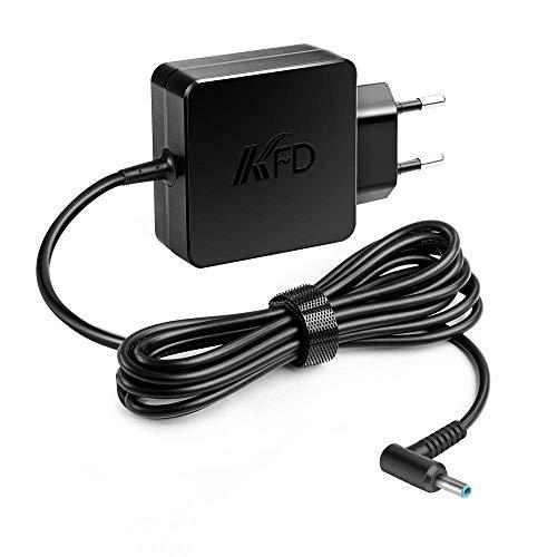 KFD 45W Cargador Portátil Adaptador para HP Envy x360 15-u010dx 15-u011dx 14-f020us 14-f021nr Pavilion 11-n010dx x360 EliteBook 1030 G2 Folio 1040 G2 G3 Spectre x360 X2 13 15 ADP-45WD B 19.5V 2.31A