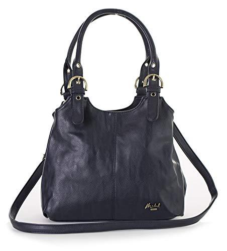 BHSL Mehrfachtaschen Mittlere Größe Umhängetasche - Mit Branded Schutztasche und Charm 27x24x12 cm (BxHxT)