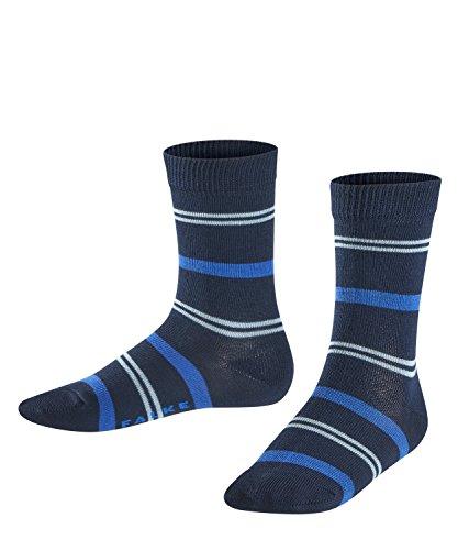 Falke Pencil Stripe Calcetines, Azul (Marine 6120), 2-3 años (Talla del fabricante: 23-26) para Niños
