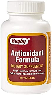 Rugby Antioxidant Formula 50 Tabs
