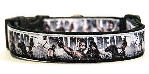 The Walking Dead C Collar Perro Hecho A Mano Talla XL Handmade Dog Collar