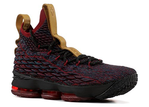 Mens Nike Lebron XV Dark Atomic Teal/Black-Team Red 8.5 D (M) US