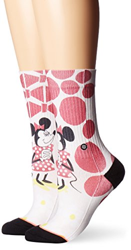 Stance Yusuke Minnie Womens Socks Off White