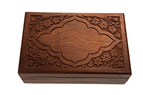 PatchouliWorld Original Kavatza Wooden Box mit Geheimschloss (Persia)