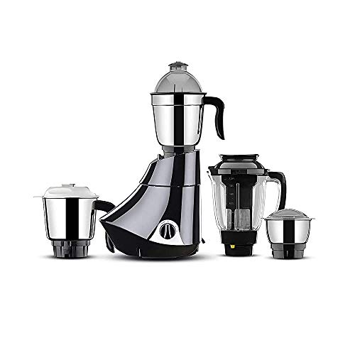 (Renewed) Butterfly Rapid 750-Watt Mixer Grinder Black with (4 Jars)