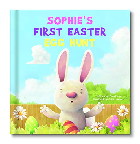Baby's First Easter Egg Hunt Personalized Book, Toddler Easter Gift