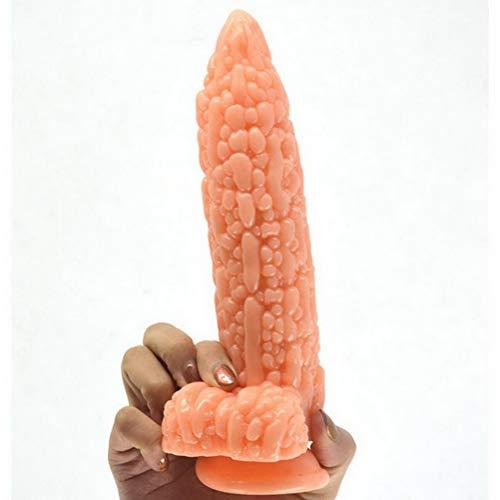 Dǐldǒ grǒß, 20.7cm extrem weich Female Absaug- Silikon Größe Big □ `□ ä & listicWand for Monster Echtnaturgetreue LYL824