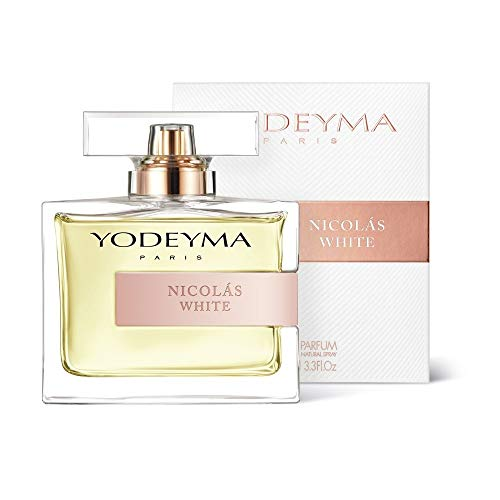 Perfume de mujer Yodeyma Nicolas White Eau de Parfum, 100ml