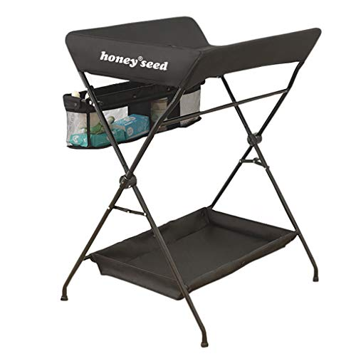 Table à Langer pour bébé Table de Traitement de Massage Pliable Multifonctions Art de Tableau de Contact néonatal de Fer Art Noir/Vert/Gris Trois Couleurs