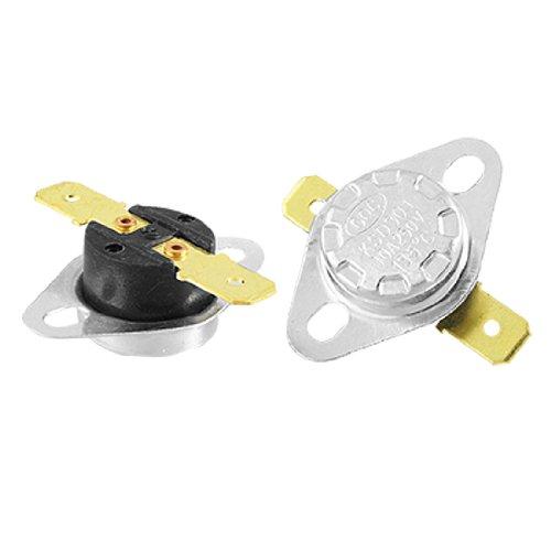 Sourcingmap a11111400ux0073-2 pz 135135 135 centigradi di chiusura normale controllo della temperatura del termostato e ksd301