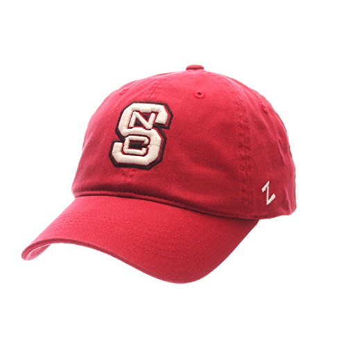 NCAA Zephyr North Carolina State Wolfpack Mens Scholarship Relaxed Hat, Adjustable, Team Color