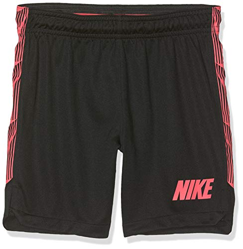 NIKE B NK Dry SQD K 19 Pantalones Cortos de Deporte, Niños, Black/White/White, XS