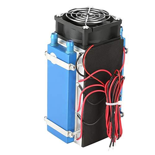SALUTUYA DC 12V 4/6 Chip Semiconductor máquina de refrigeración Enfriador DIY radiador Dispositivo de refrigeración por Aire para Mahine(6 Chips)