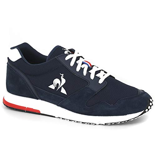 le coq Sportif Herren JAZY Sport Dress Blue/Optical White Sneaker, Blau, 46 EU