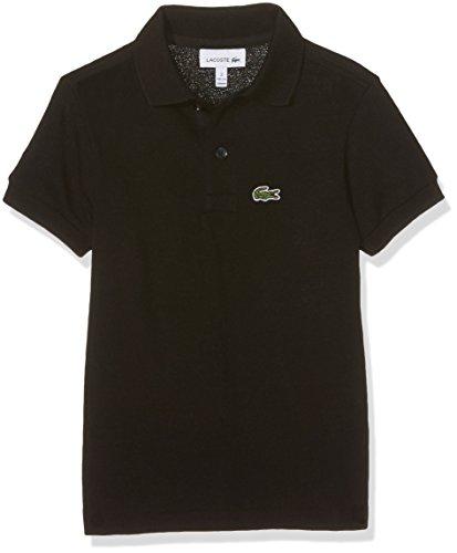 Lacoste Jungen Pj2909 Poloshirt, Schwarz (Noir), 16 Jahre (Herstellergröße: 16A)