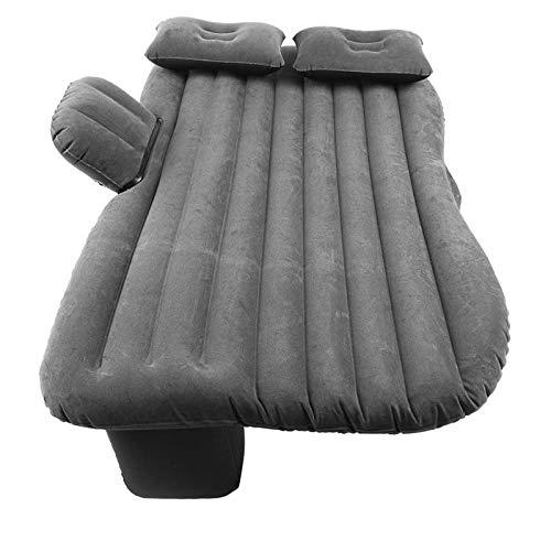 LYYJIAJU Car Mattress SUV Inflatable Multifunctional Inflatable Bed Flocked PVC Back Seat Mattress Portable Car Travel Camping Mattress Universal