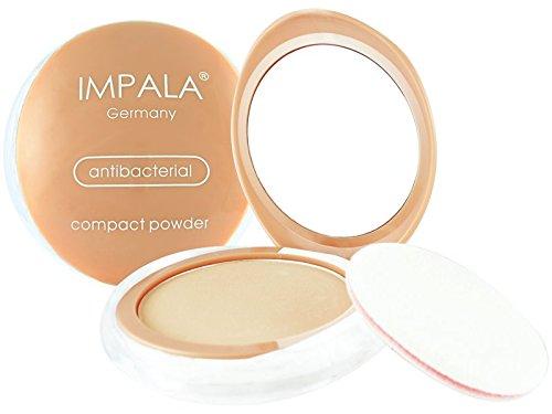 Impala Antibakteriell Kompakt Puder 01 Matt Seidige Berührung