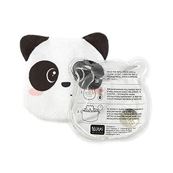 Legami Scaldamani SOS Winter-Chauffe-Mains-Panda Mixte Enfant, Blanc/Noir, M