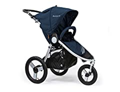 "Speed3 Steering System: WALK. JOG. RUN One step, compact fold (15.5""H) with auto lock & standing stow. Adjustable TPR handle (no foam or PVC). Save precious time loading & unloading your jogging stroller. Non-toxic, eco fabric featuring 100% polyeste..."