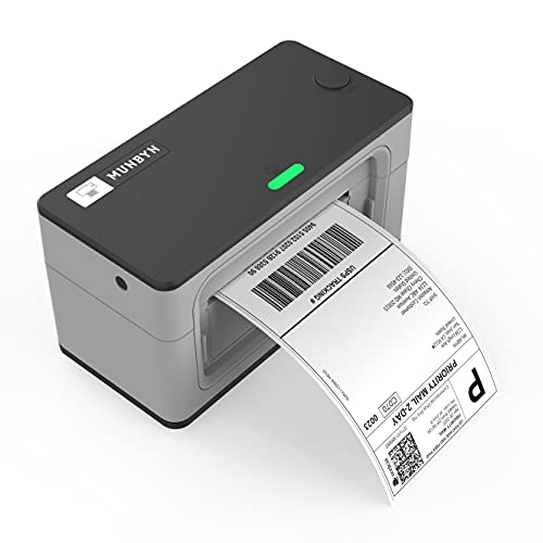 MUNBYN Thermal Label Printer, 4x6 USB Thermal Shipping Label Address Postage Printer Compatible with Amazon, UPS, Ebay, Shopify, FedEx Labeling, One Click Set up, Work with Windows, Mac System