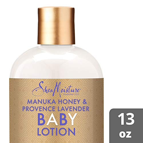 Shea Moisture Manuka Honey and Provence Lavender Baby Nighttime Soothing Lotion By Shea Moisture for Kids Body Lotion, 13 Ounce