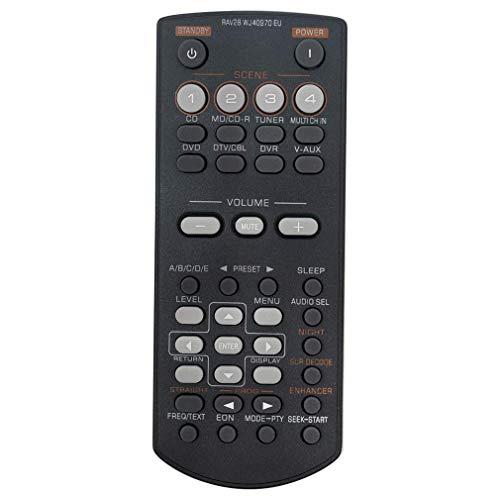 VINABTY RAV28 WJ40970EU Mando a Distancia reemplazado por Yamaha Home Theater DVD AV Receptor RAV34 WN4668E RAV250 RX-V361 RX-V365 HTR-6030 HTIB-6800 HTR6030