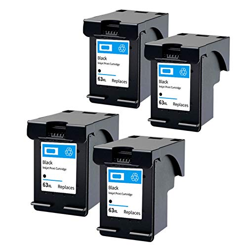 Compatible con impresoras Deskjet 1110 2130 2138 3630 Envy 4510 4520 Officejet 3830 4650 5220 5264 Color negro tricolor negro 4