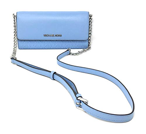 Cross Body Flap Closure Removable Convertible Crossbody Strap 1 Slip in Pocket at Back Exterior 1 Zipped Pocket in Middle Compartment 8 Card Slots