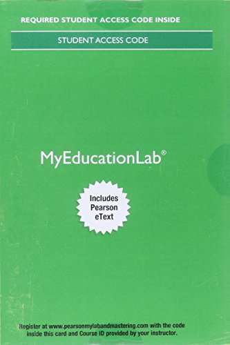 MyLab Education with Pearson eText -- Access Card -- for Educational Psychology (13th Edition)