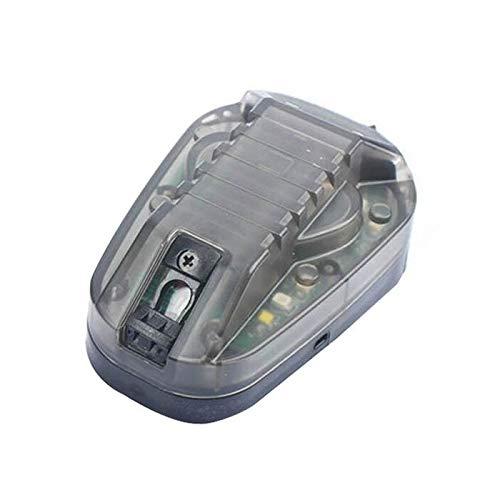 Armorwerx Gen 3 IR + Visible LED IFF Helmet Strobe (Black Body, Green LED)