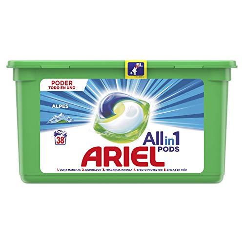 Ariel–Waschmittel 3in1Pods–Alpine–38Kapseln