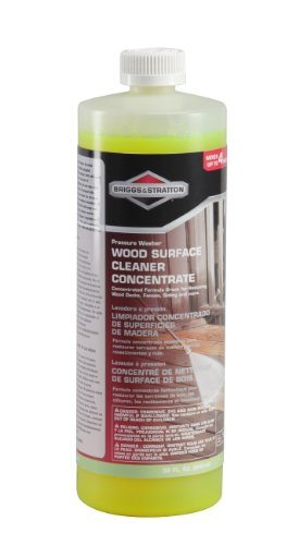 Briggs & Stratton 6065 Wood Surface Cleaner and Concentrate for Pressure Washers, 32-Ounces, Discontinued by Manufacturer