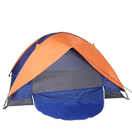 Pop Up Zelt Campingzelt 2 Person Kuppelzelt wasserdichte Easy Setup Familienzelt Doppeltür für Kampierungen im Freien Wandern & Reisen