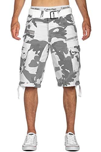 Geographical Norway Camouflage - Pantalones Cortos para Hombre