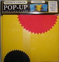 David A. Carter Pop-Up Greeting Cards: Clicker