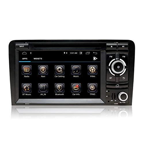 JALAL Estéreo de Coche Android 10 para Opel Vauxhall Astra Antara Corsa Vivaro Meriva Vectra Zafira, Pantalla táctil de 8'con navegación GPS Bluetooth Am PM WiFi SWC DSP Dab +, sin DVD, 2 + 80GB