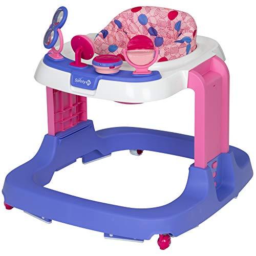 Safety 1St Ready, Set, Walk! Dx Developmental Walker, Spotlight Pink, One Size