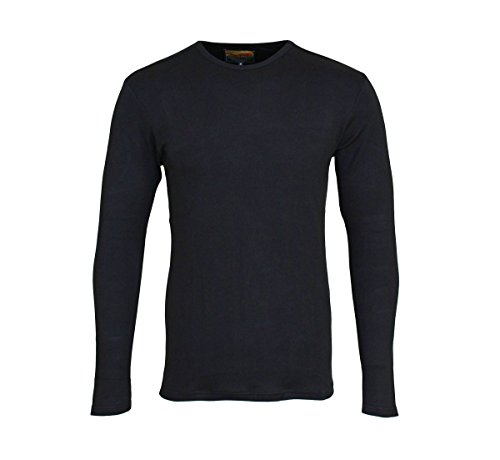 Petrol - T-Shirt à manches longues - Homme Noir Noir