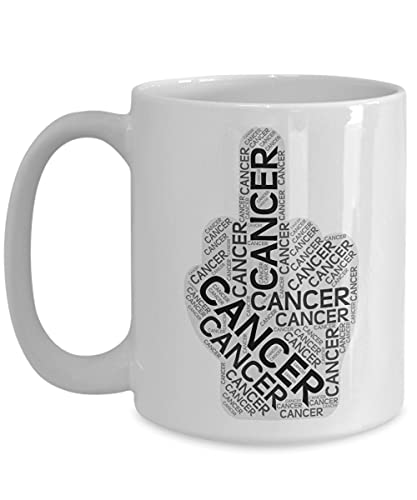 Lawenp Taza de viaje del cáncer de F CK para el regalo de la taza de café del cerebro de la próstata del colon del superviviente