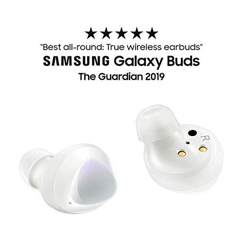 Samsung Galaxy Buds Live, Kabellose Bluetooth-Kopfhörer mit Noise Cancelling (ANC), ausdauernder Akku, Schwarz & Galaxy Buds +, Kabellose Kopfhörer, Weiß