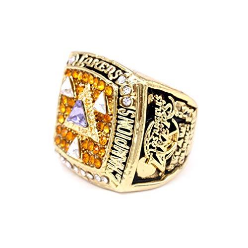 YH600 Anello del Campionato NBA Los Angeles Lakers 2002 Campionato Replica Anelli,Without Box,10