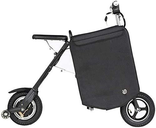 Viajes conveniencia un sano viaje 10 en 36 V eléctrico plegable Maleta coche Madre y niño pequeño portátil Carro bicicleta eléctrica 250 W alto cepillo del motor, adecuado para varias ocasiones